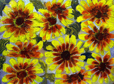 Flowers Print by Don Thibodeaux