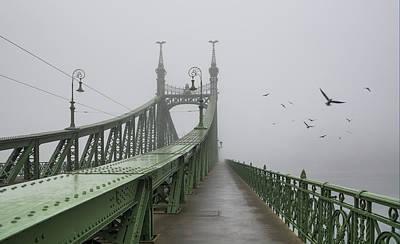 Foggy Day In Budapest Print by Ayhan Altun