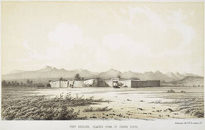 Manifest Destiny Painting - Fort Bridger, Wyoming, 1852 by Granger