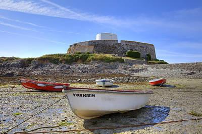 Fort Grey - Guernsey Print by Joana Kruse