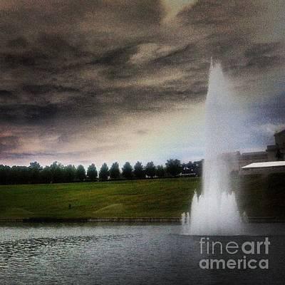 Fountain Original by Genevieve Esson