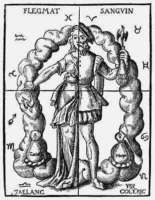 Four Humors Print by Granger
