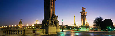France, Paris, Pont Alexandre IIi Print by Panoramic Images