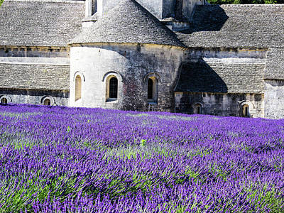France, Provence, Seananque Abbey Print by Terry Eggers