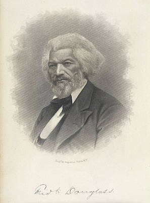 Frederick Douglass Print by British Library