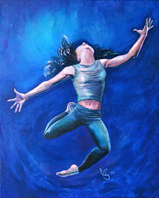 Dancing Painting - Freedom by Tamer and Cindy Elsharouni