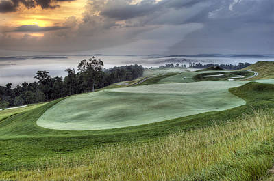 Southern Indiana Photograph - French Lick Resort Dye Course by Ken  May