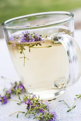 Fresh Thyme Tea Print by Elena Elisseeva