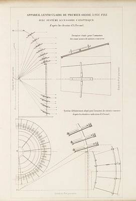 Fresnel On Reflecting Lenses Print by King's College London