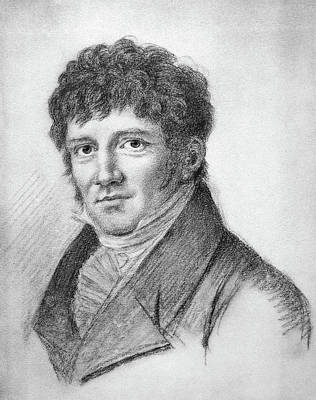Lapel Drawing - Friedrich Wilhelm Bessel (1784-1846) by Granger