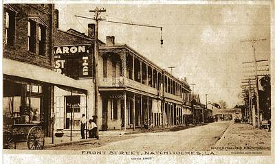 Car Photograph - Front Street C1907 by Audreen Gieger-Hawkins