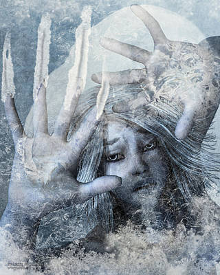 Frozen Print by Lizzie Prusaczyk
