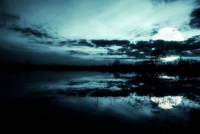 Full Moon Photograph - Full Moon by Jaroslaw Grudzinski