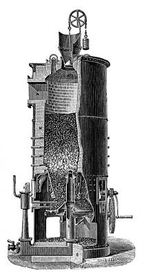 Gasification Unit Print by Science Photo Library