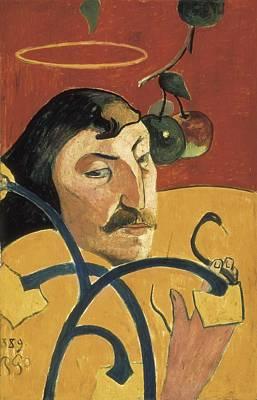 Self Portrait Photograph - Gauguin, Paul 1848-1903. Self-portrait by Everett