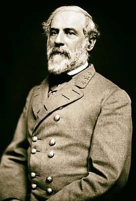 General Robert E Lee 1862 Print by Mountain Dreams