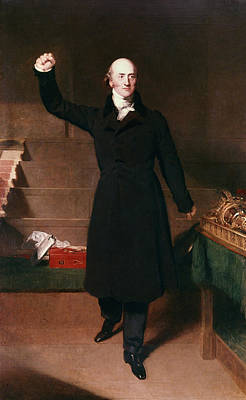 Fists Painting - George Canning (1770-1827) by Granger
