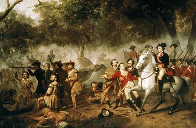 Patriotic Painting - George Washington (1732-1799) by Granger