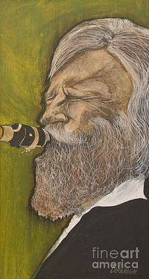 Gerry Mulligan Print by Dave Coleman