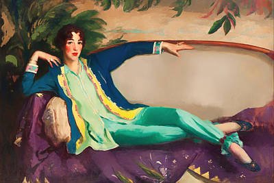 Gertrude Vanderbilt Whitney Print by Mountain Dreams