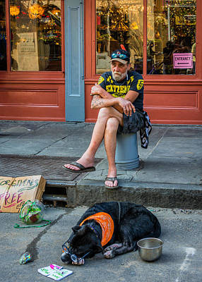 Zz Photograph - Gettin' By In New Orleans by Steve Harrington