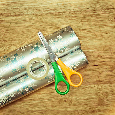 Eve Photograph - Gift Wrapping by Tom Gowanlock