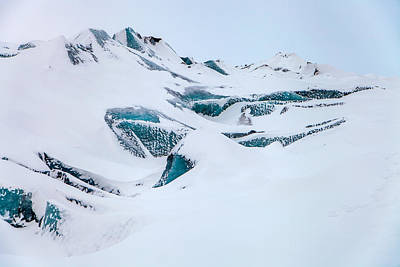 Photograph - Glacial Blue by John Pike