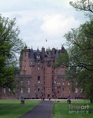 Castle Photograph - Glamis Castle, Scotland by Rafael Macia