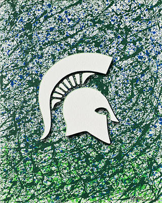 Go Spartans Original by Lance Graves
