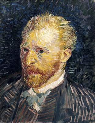Self Portrait Photograph - Gogh, Vincent Van 1853-1890. Self by Everett