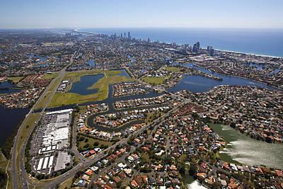 Tourism Photograph - Gold Coast by Brett Price