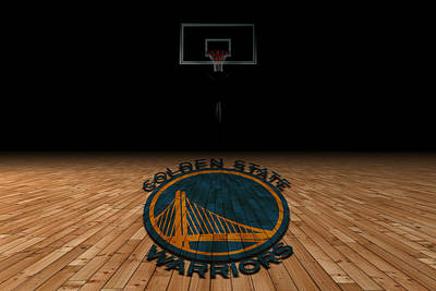 Benches Photograph - Golden State Warriors by Joe Hamilton
