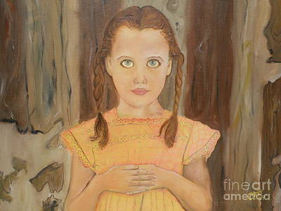 Artist Christine Belt Painting - Grace by Christine Belt