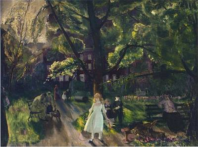 Gramercy Park Print by Celestial Images