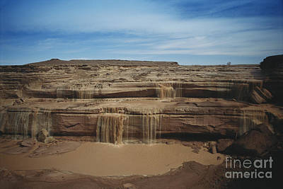Grand Falls Of The Little Colorado Print by Mark Newman