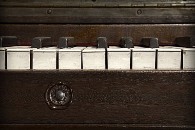 Ragtime Photograph - Grand Pianoforte by John Stephens