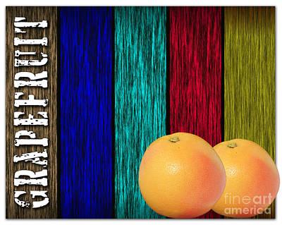 Grapefruit Mixed Media - Grapefruit by Marvin Blaine