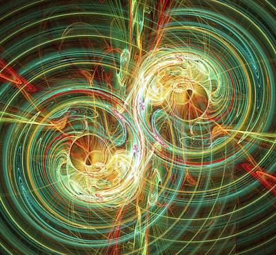 Gravitational Waves Print by Alfred Pasieka