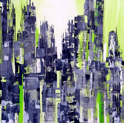 Green City Print by Katie Black
