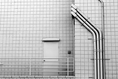 Gridlock Photograph - Gridlock by Skip Hunt