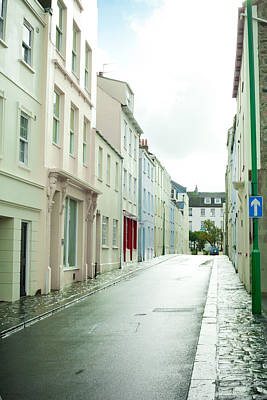 Townhouses Photograph - Guernsey Street by Tom Gowanlock