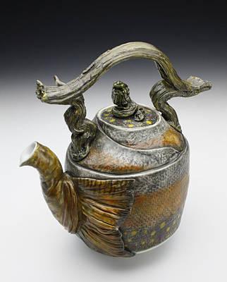 Sculpture - Hada X by Mark Chuck
