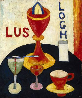 Marsden Hartley Painting - Handsome Drinks by Marsden Hartley