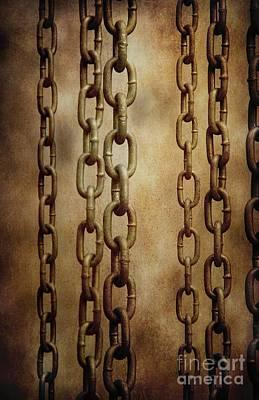 Hanged Chains Print by Carlos Caetano