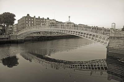 Ha'penny Bridge Dublin Ireland Print by Betsy Knapp