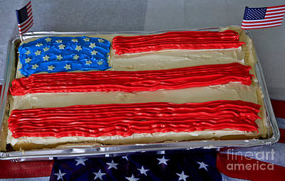 Happy 4th July Original by Tracy  Hall