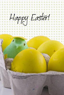 Happy Easter Print by Juli Scalzi