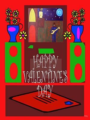 Happy Valentine's Day 7 Print by Patrick J Murphy