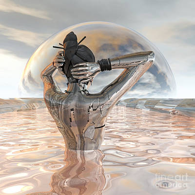 Hangout Digital Art - Harmony by Diuno Ashlee