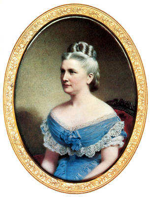 American First Lady Painting - Harriet Lane, First Lady by Science Source